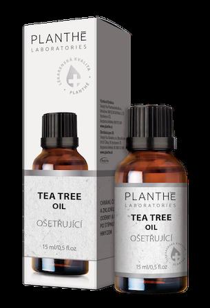 Tea Tree olej s rozmarýnem lékařským ve své nejčistší formě – PLANTHÉ, to je česká kosmetika lékárenské kvality bez chemie