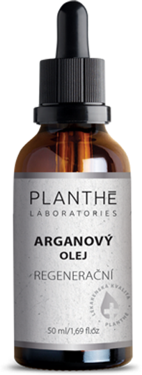 PLANTHÉ Arganový olej na pleť regenerační – hodí se také jako pleťový olej na akné, ekzémy, lišeje