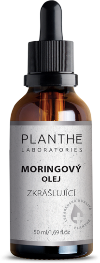 Lahvička s kapátkem – PLANTHÉ Moringový olej zkrášlující